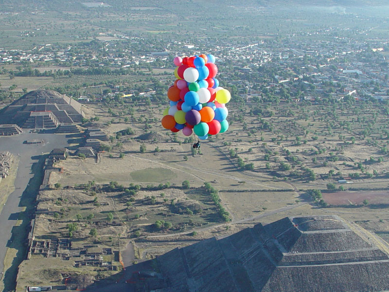 globos aerostaticos teotihuacan mexico