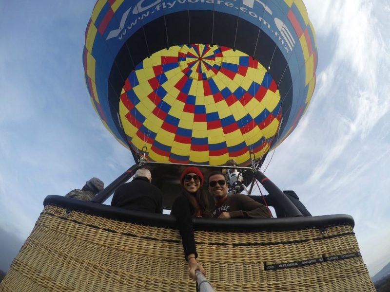 viaje en pareja teotihuacan globos