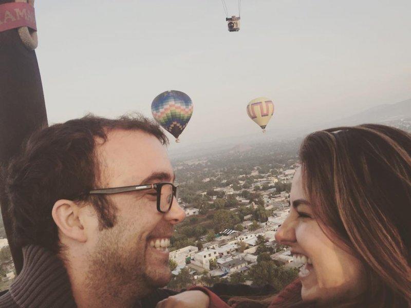 comprar un paquete para pareja en globo teotihuacan