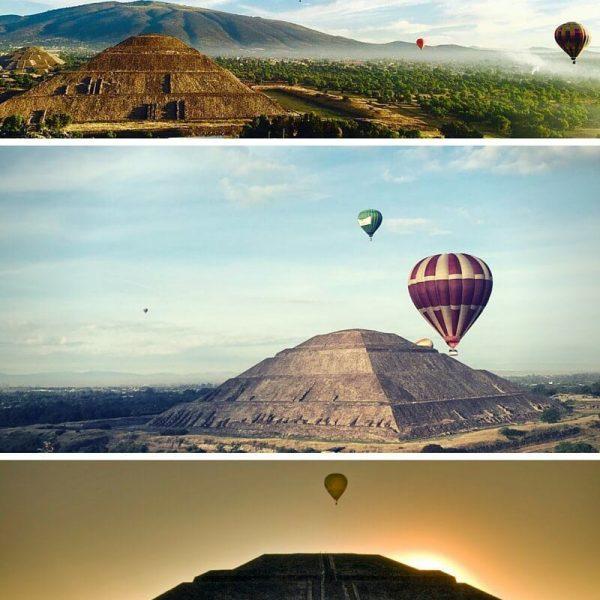 comprar un vaije en globo en teotihuacan 2016