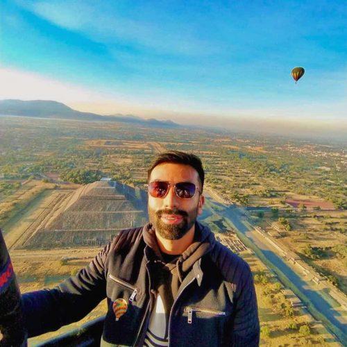 paseo en globo piramides de teotihuacan