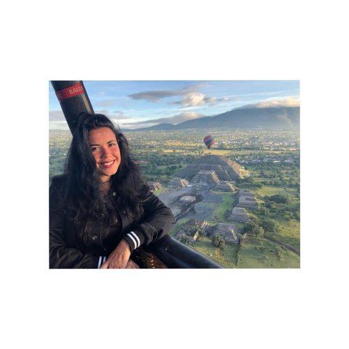 piramides de teotihuacan vista desde el globo