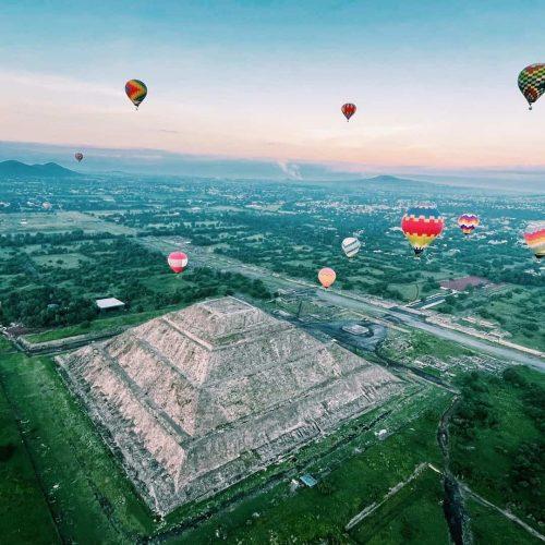 teotihuacan globos