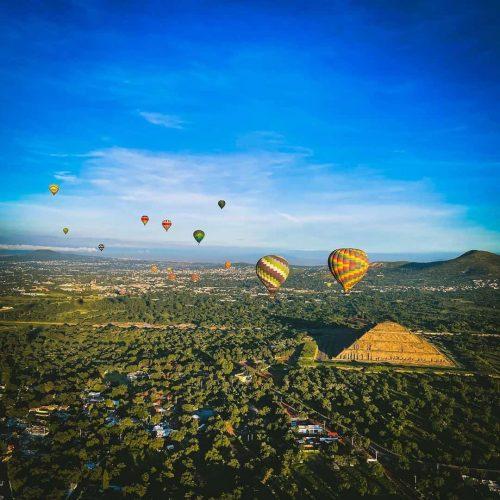 teotihuacan globos aerostaticos